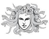 Medusa vector — Stock Vector
