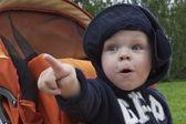 Bambino sorpreso — Foto Stock