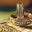 Wedding rings — Stock Photo #26952209