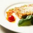 Italian lasagna dish — Stock Photo #29390897