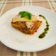 Italian lasagna dish — Stock Photo #29420665