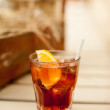 CubLibre made of Cola, Lemon and Rum. — Stock Photo #29421267