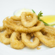 Onion Rings Breaded — Stock Photo