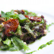 Salad with dried tomatoes — ストック写真