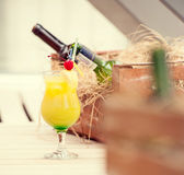 Jungle Juice cocktail — Stock Photo