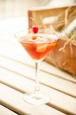 Cosmopolitan - Alcoholic Cocktail — Stock Photo