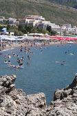 Praia do hotel à beira-mar — Foto Stock