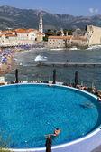 Budva, tourist destination in Montenegro — Stock Photo