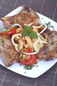 Pork chops — Stockfoto