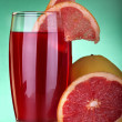 Grapefruit juice — Stockfoto