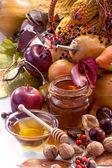 Podzimní ovoce — Stock fotografie