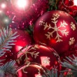 Christmas and New Year decoration — Foto de Stock