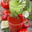Vegetable juices — Stock Photo #48976311