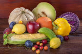 Obst und Gemüse — Stockfoto