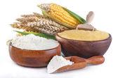Corn and wheat — Stock Photo