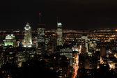 Montreal City at Night — Stock Photo