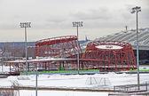 Planetarium under Construction — Stock Photo
