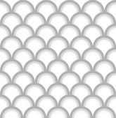 Seamless fish scale pattern — Stock Vector