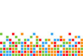 Colorful square background — Stockvektor
