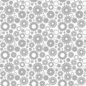 Seamless gear pattern — Stock Vector