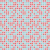Naadloze kleurrijke tic-tac-toe patroon — Stockvector