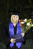 Graduate girl — Stock Photo