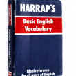 Harraps Basic English Vocabulary — Stock Photo