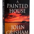Used paperback A painted house by John Grisham — Stock Photo