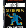 Used paperback Scorpius — Stock Photo