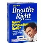 Постер, плакат: Breathe Right Nasal Congestion Relief