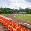 Stock Photo: Stadium and seat