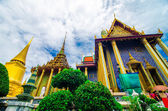 Wat Phra Kaew , Temple of the Emerald Buddha , Bangkok Thailand — Stock Photo