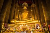 Image of buddha statue at Bangkok Thailand — Stock Photo
