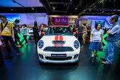 Mini Cooper s car at The 30th Thailand International Motor Expo — Stock Photo