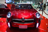 MG Icon display on stage at The 30th Thailand International Motor Expo — Stock Photo