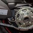 Chain and Gear Wheel — Stock Photo