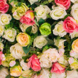 Stock Photo: Abstract background of flowers