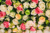 Abstract background of flowers — Stock Photo