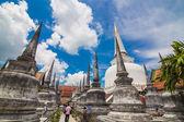 Wat Phra Mahathat Woramahawihan Nakorsrithammarat Thailand  — Stock Photo