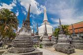Wat phra mahathat woramahawihan nakorsrithammarat Thailandia — Foto Stock
