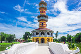 Tower in the palace area of Bang Pa In  — Stock Photo