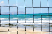 Volleyball net close-up — Stock Photo