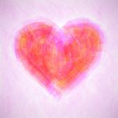 抽象的な愛の背景 — ストックベクタ