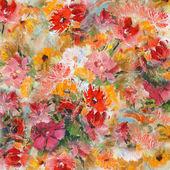 花の壁紙のある静物 — ストック写真