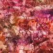 Abstract oil painting in red tones — Stock Photo