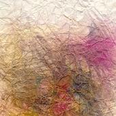 Malte abstrakt farbe hintergrund, zerknitterte pape — Stockfoto