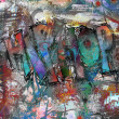 Hip hop, street art background  — Stock Photo