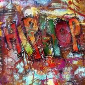 Hip hop, street art background — Foto de Stock