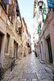 Street in old down town ,Croatia — Stock Photo