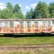An abandoned trains bogie — Stock Photo #51450425